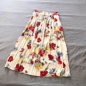 💖 Fall Colors Vintage Autumn A line Skirt